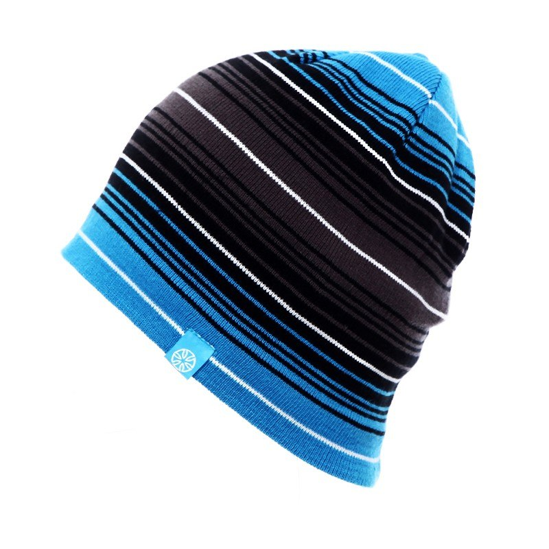 Bonnet d'hiver à rayure pour le ski, le patinage ou le snowboard