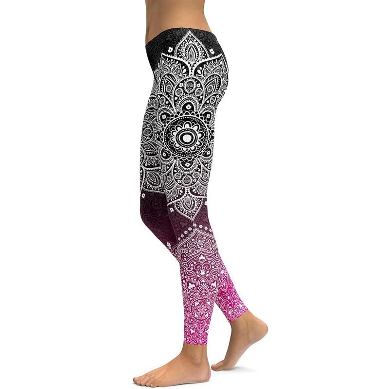 Legging Sport fitness et yoga motifs zen
