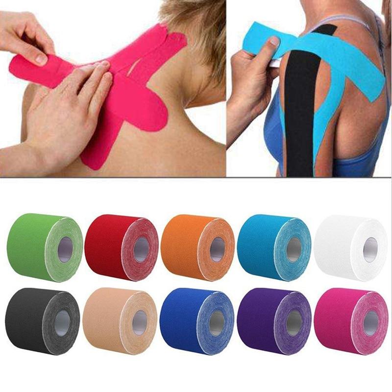 Ruban de kiné Sport pour strapping pour éviter la cheville qui gonfle qui enfle ou qui craque