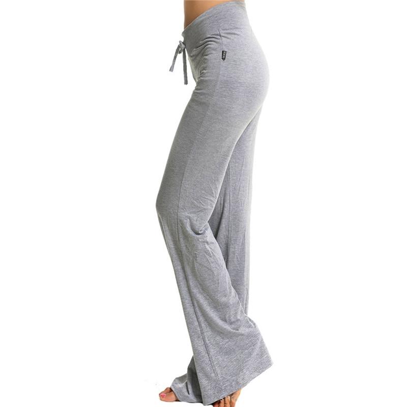 le pantalon de yoga fin pour être à l\'aise, avec ceinture type corde