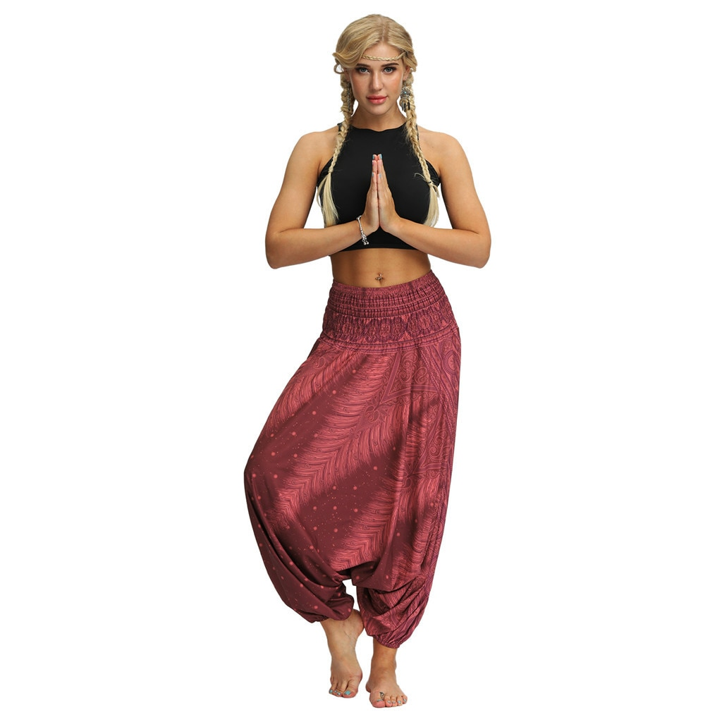 woogalf-sarouel-femme-grande-taille-Harem-pantalon-Baggy-Aladdin-Boho-Festival-Hippy-7