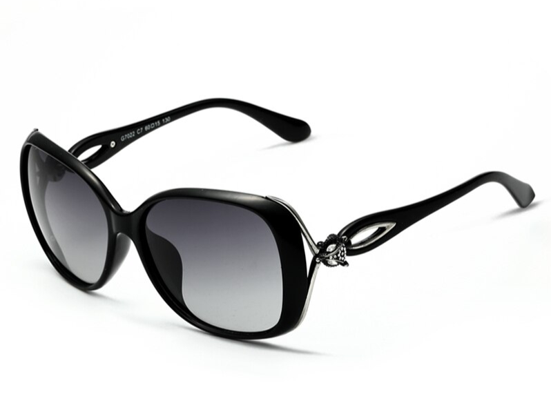 lunettes de soleil polarisées rétro pour femme