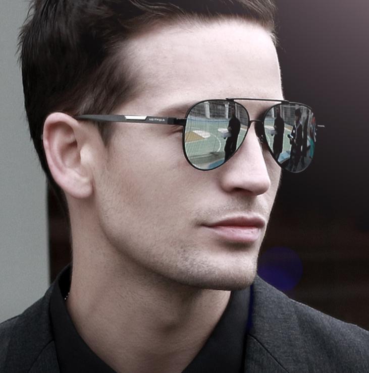 lunettes de soleil polarisées hommes aluminium magnésium photochromique