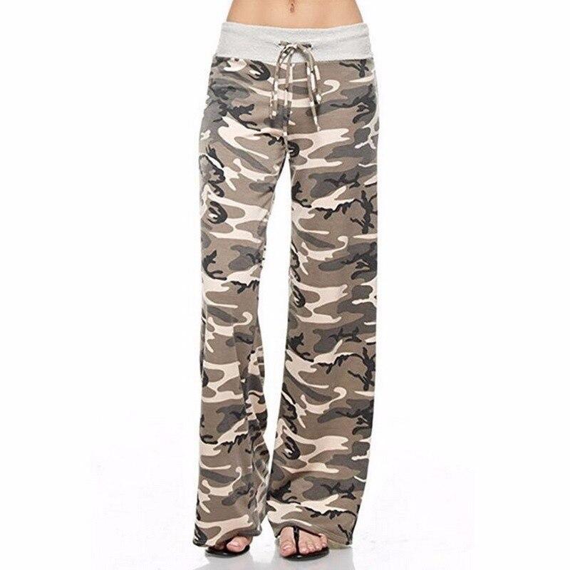 Pantalon de Yoga Camouflage ou pois pour femmes