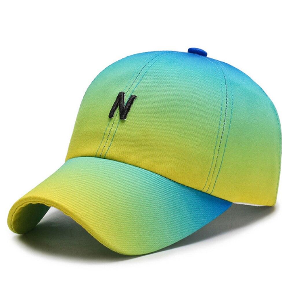 casquette N couleurs degradées