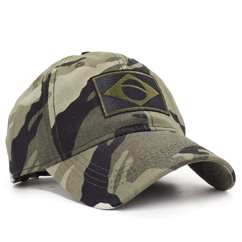 Casquette de baseball Brazil Camouflage