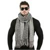 Plus-r-cent-70-cm-200-cm-Hommes-Design-De-Mode-Foulards-Hommes-Hiver-Laine-Tricot