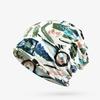 COKK-Femmes-Beanie-Graffiti-Impression-Turban-Chapeau-Fille-Casual-Skullies-Turban-charpe-Femelle-Couvre-chef-Headwrap