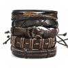 SI-ME-Vintage-Feuille-Plume-Multicouche-Bracelet-En-Cuir-Hommes-De-Mode-Tress-La-Main-toiles