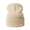 Mode-Tricot-Skullies-Bonnets-Flamingo-Hiver-Chapeaux-Femmes-En-Tricot-Chapeau-D-hiver-Bonnets-Chaud-pais