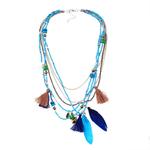 naomy-et-zp-boh-me-multi-couleur-plume-colliers-perles-gland-maxi-longue-ethnique-cha-ne