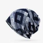 COKK-Nouveau-Printemps-D-t-Hommes-de-Femmes-Slouchy-Beanie-Motif-G-om-trique-Chapeau-Bonnet