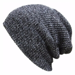 Hip-Hop-Bonnet-Tricot-femme-Hiver-Chaud-D-contract-Acrylique-Slouchy-Chapeau-Crochet-Bonnet-de-Ski