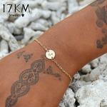 17-km-De-Mode-Lettre-Bracelet-et-Bracelet-Pour-Les-Femmes-Simple-R-glable-Couleur-Or