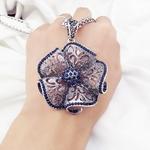 Vintage-Fleur-Long-Collier-Pendentif-Femmes-Nouveaux-Bijoux-De-Mode-En-Gros-Chandail-Colliers-De-No