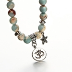 17-km-Vintage-OM-Rune-Strand-Bracelets-Bangles-Pour-Femmes-Hommes-Pierre-Naturelle-La-Main-Manchette