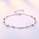 XIYANIKE-Classique-Cinq-branches-Carr-Rond-Perles-Argent-925-Bracelets-Pour-Femmes-Nouvelle-Arriv-e-Charme