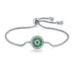 bracelet STER vert woogalf