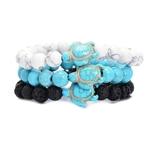 Style-d-t-Mer-Tortue-Perles-Bracelets-Pour-Femmes-Hommes-Classique-8-MM-Bleu-Naturel-Pierre