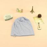 COKK-Mince-Beanie-Chapeaux-Pour-Femmes-Hommes-Skullies-Bonnets-Coton-Solide-Couleur-Noir-Gris-Avec-Anneaux
