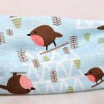 COKK-Coton-Beanie-Turban-Chapeaux-Pour-Femmes-Motif-D-oiseau-de-Dessin-Anim-Mince-Chapeau-Cap
