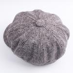 COKK-B-ret-Femelle-Plat-Cap-Vintage-Artiste-Laine-Tocas-Automne-Chapeaux-D-hiver-Pour-Femmes