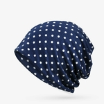 COKK-Femmes-Beanie-Chapeau-de-Coton-D-t-Dot-Motif-Beanie-Chapeaux-Pour-Hommes-Femmes-Slouchy