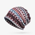 COKK-Chapeaux-D-hiver-Pour-Femmes-Turban-Chapeau-Plaid-Femelle-Bande-Motif-Chapeau-Chaud-pais-Velours