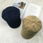 COKK-Gavroche-Cap-Femmes-Chapeau-D-hiver-Femelle-Bouchon-Octogonal-Peintre-Chapeau-B-rets-Casquettes-Pour