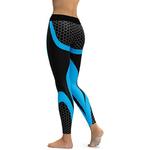 Hayoha-Maille-Motif-Imprimer-Leggings-fitness-Leggings-Pour-Femmes-Sportives-Entra-nement-Leggins-lastique-Mince-Noir