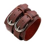 Bracelet-force-cuir-homme-femme-woogalf-mode-accessoire-marron