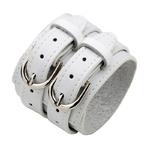 Bracelet-force-cuir-homme-femme-woogalf-mode-accessoire-blanc