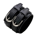 Bracelet-force-cuir-homme-femme-woogalf-mode-accessoire-noir