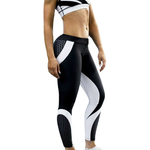 Legging-sport-fitness-nid-abeille-woogalf-mince-elastique-femme-sexy-profil