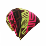 Bonnet-hiver-ski-motifs-leopard-traiteur-saint-woogalf-snowboard-innocent-phrygien-rose-jaune
