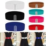 Femmes-ceinture-Maigre-lastique-Ceinture-En-Cuir-Souple-Large-Auto-Tie-Wrap-Autour-Taille-Bande-Simple