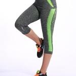 BINAND-femmes-haute-lastique-Capri-collants-course-3-4-longueur-Fitness-pantalon-de-yoga-Gym-exercice