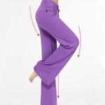 woogalf-pantalon-fin-yoga-sport-detente-violet