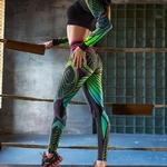 SVOKOR-femmes-leggings-Sexy-taille-haute-mince-impression-Leggings-gymnase-haute-stretch-respirant-pantalon-femmes