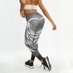 SVOKOR-femmes-nid-d-abeille-cr-ne-Fitness-Legging-couleur-unie-Sexy-mode-impression-Leggings-Polyester