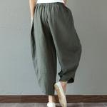 Sarouel-Pantalon-Femme-Harem-Pantalon-Boho-Vintage-coton-lin-Pantalon-large-jambe-2019-femmes-Hippie-Pantalon-woogalf-8