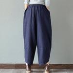 Sarouel-Pantalon-Femme-Harem-Pantalon-Boho-Vintage-coton-lin-Pantalon-large-jambe-2019-femmes-Hippie-Pantalon-woogalf-5