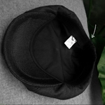 Casquette-quatre-saisons-coton-et-lin-noir-homme-gavroche-chapeau-m-le-b-ret-hommes-et
