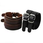 ZORCVENS-populaire-hommes-et-femmes-r-tro-Bracelet-en-cuir-avec-fermoir-r-glable-large-Bracelets