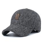 Casquette-de-Baseball-tricot-e-en-laine-Casquette-d-hiver-pour-hommes-chapeaux-pais-et-chauds