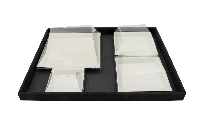Plateau-repas écologique 300x400 mm personnalisable dès 100 pièces (kit A)