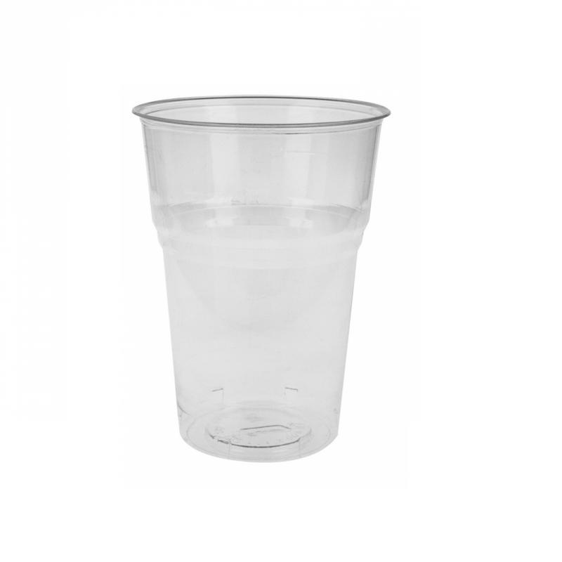 Gobelet 400 ml en plastique compostable en paquet de 50