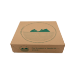 Plateau-repas écologique automontable 288x338 mm - fermé de face - ProSaveurs.com