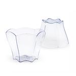 Verrine en plastique Hexa Fleur 70 ml CN04-3C-2