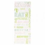 Sachets sandwiches en papier blanc 9+4x30 cm personnalisés 1 couleur CN08-22922P1C-2